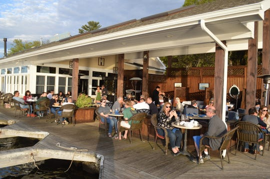 Blu on the Lakeshore restaurant on Lake Mahopac opened up its lakeside dining on May 11, 2019.