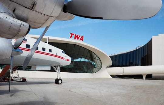 Ready for take off: The new TWA Hotel at JFK Airport.