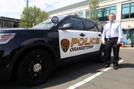 Orangetown Police Chief Donald Butterworth at the police station in Orangeburg May 17, 2019. Butterworth joined the department in 1990 after three years as an NYPD.
