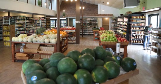 The owners of Willey Farms took a nearby vacant property and turned it into a market after the business' previous site was destroyed by a fire late last year.
