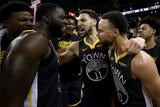 SportsPulse: USA TODAY Sports' Martin Rogers breaks down Game 2 of the Western Conference finals, where the Warriors battled back to steal the win and take a 2-0 series lead on the Blazers.