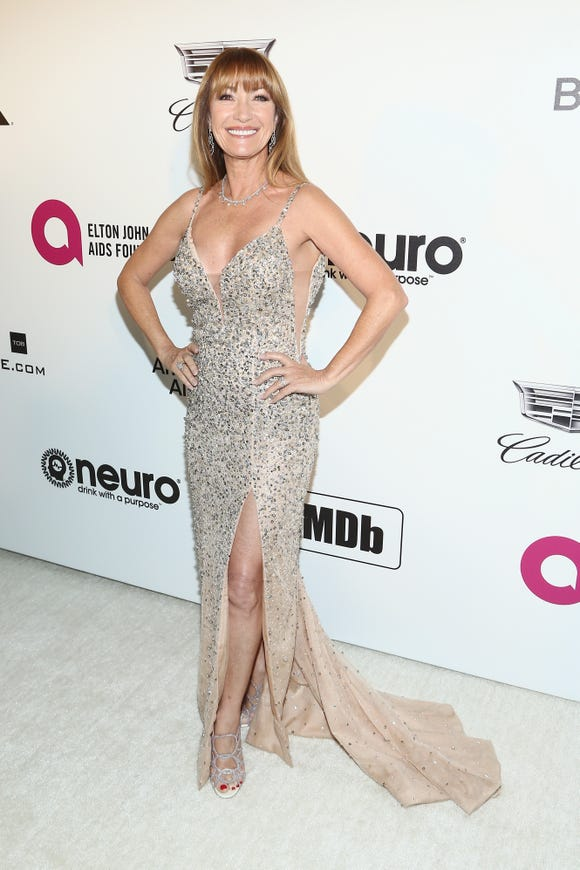 Jane Seymour, pictured here at The Elton John AIDS Foundation Academy Awards Viewing Party on February 24, says she's done with Botox.