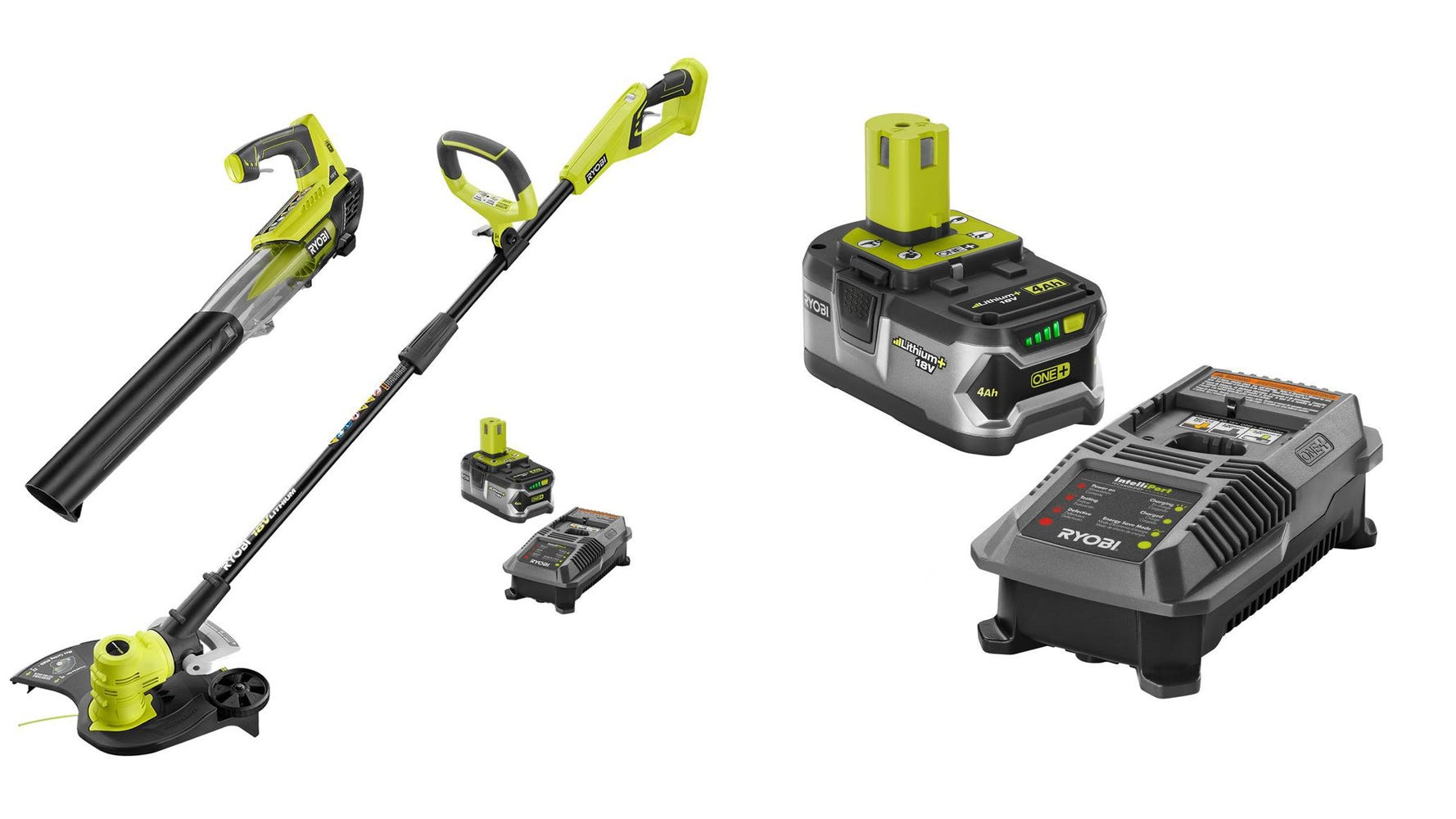 Yard work made easy thanks to RYOBI.