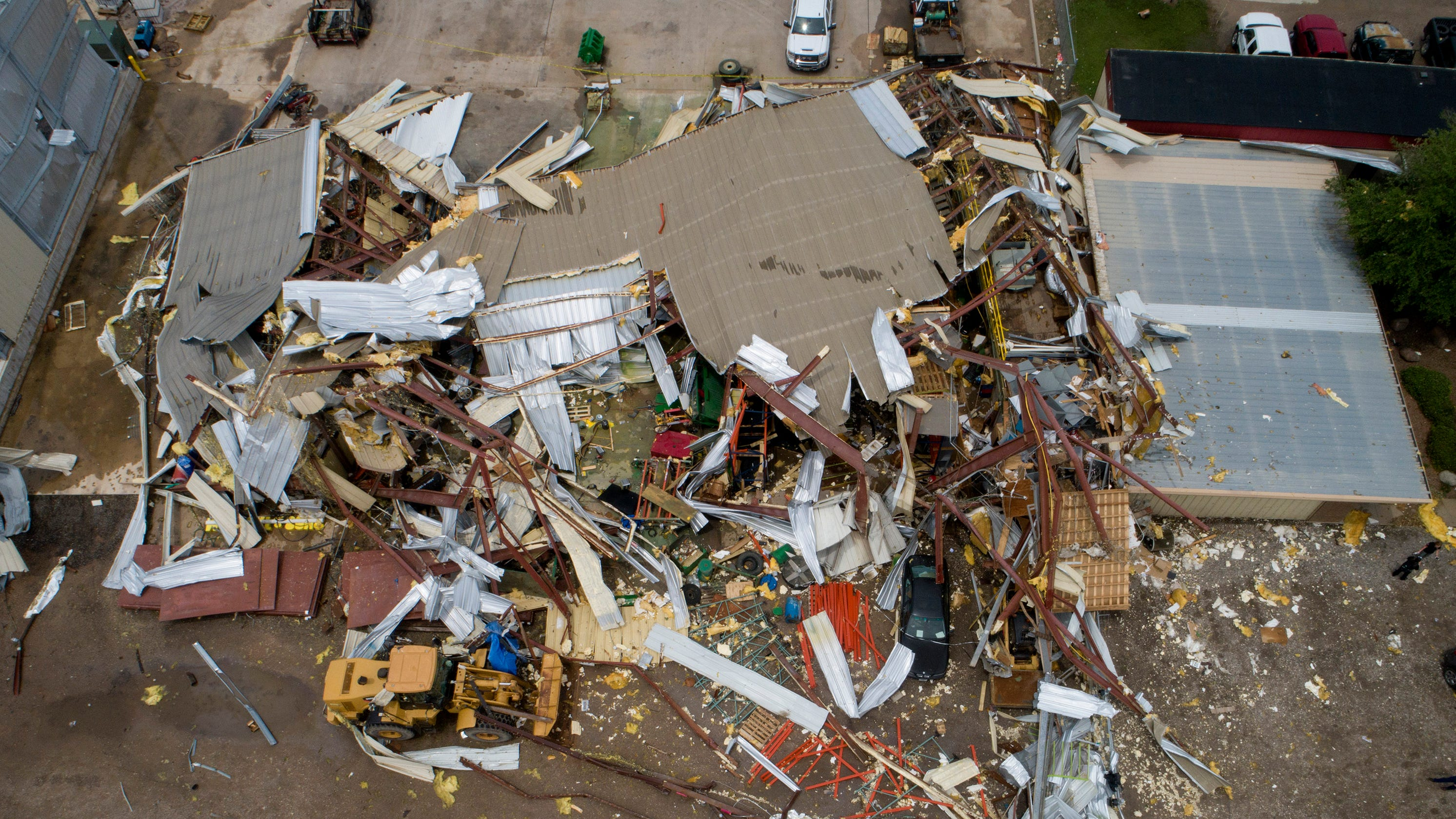 Tornado Alley storms: Hail, tornadoes to slam Texas to South