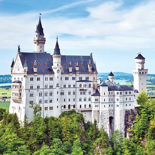 In its fairy-tale alpine setting, Neuschwanstein...