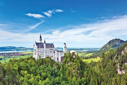 4baed32c8d998 In its fairy-tale alpine setting, Neuschwanstein Castle is the most popular  tourist destination
