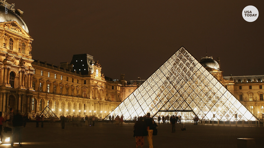 Paris' Louvre museum reopens one day after workers walk out to protest overcrowding