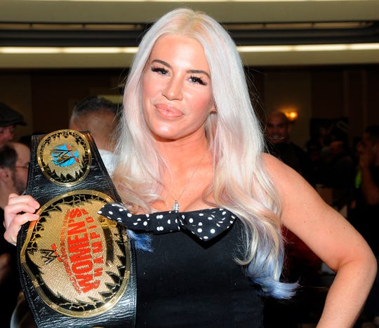 "Ashley Massaro attends the ""Big Event"" at the LaGuardia Plaza Hotel."