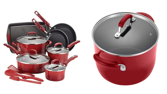 Upgrade your cookware with this Rachael Ray set.