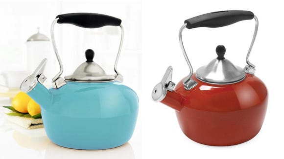 This little kettle makes a great gift for tea lovers.