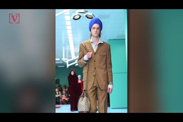 62b0f3eefa027 Gucci faces cultural appropriation backlash over  Indy Full Turban