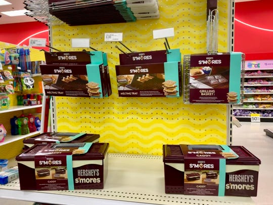 Target sells a Hershey's toolbox to organize your s'mores ingredients Marie Kondo style