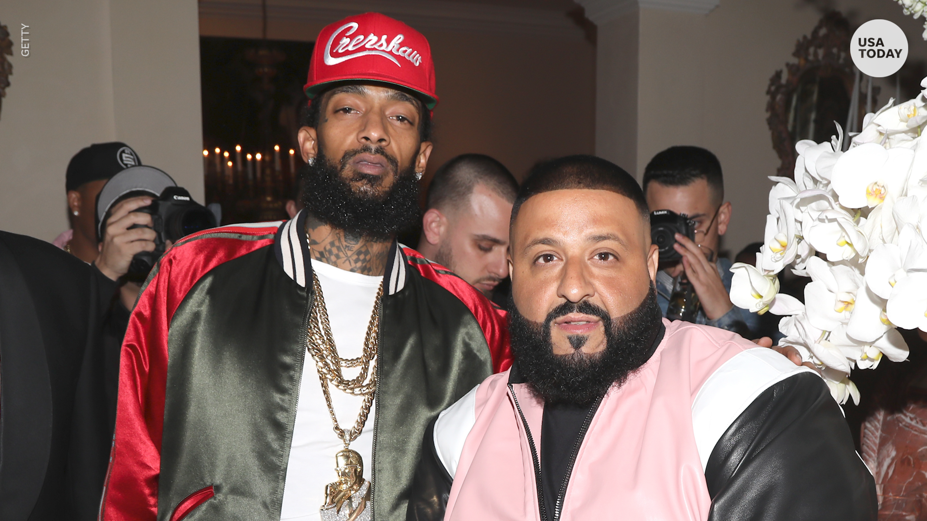 Nipsey Hussle featured in DJ Khaled's new song 'Higher'
