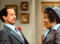 (L-R) Sherman Hemsley and Isabel Sanford in a scene from the Norman Lear show The Jeffersons --- DATE TAKEN: rec'd 06/09  No Byline   Sony Pictures Home Entertainment        HO      - handout   ORG XMIT: ZX72074 (Via MerlinFTP Drop)