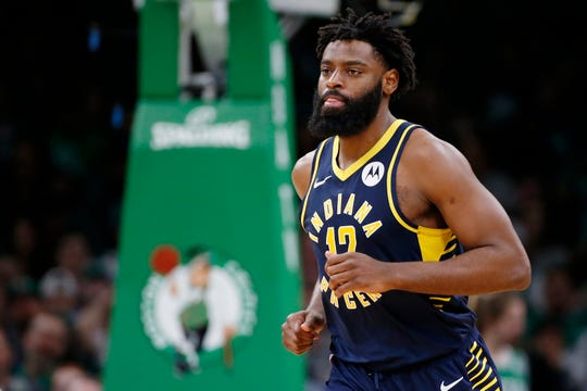 Pacers guard Tyreke Evans has been banned for a violation of the league's anti-drug policy.