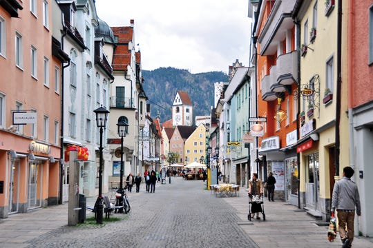 The Bavarian town of Füssen has a rich history and evocative corners beyond its cobbled core.