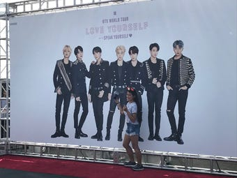 BTS at MetLife Stadium: Fans get ready for the two K-pop big shows on May 18, 19 2019.