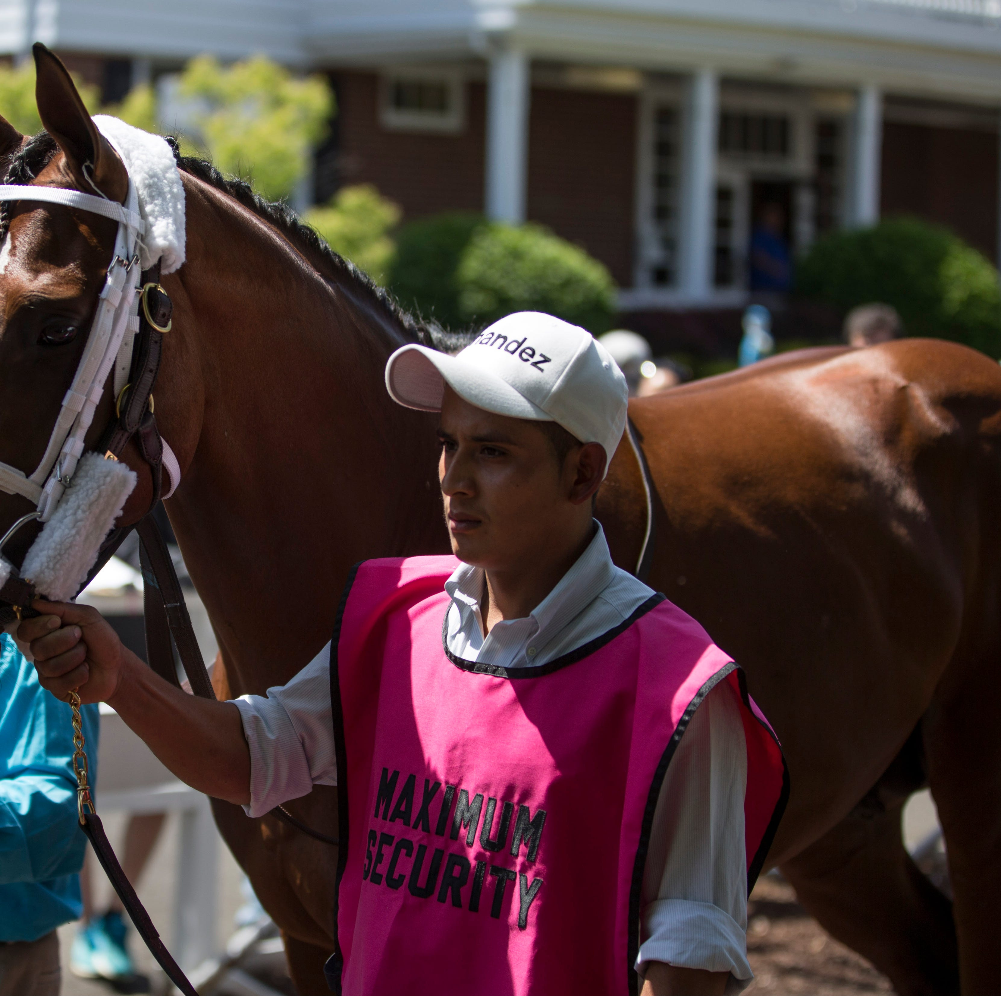 Before War of Will wins Preakness, Maximum Security parades at Monmouth Park