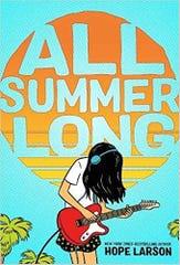 """All Summer Long"" by Hope Larson."