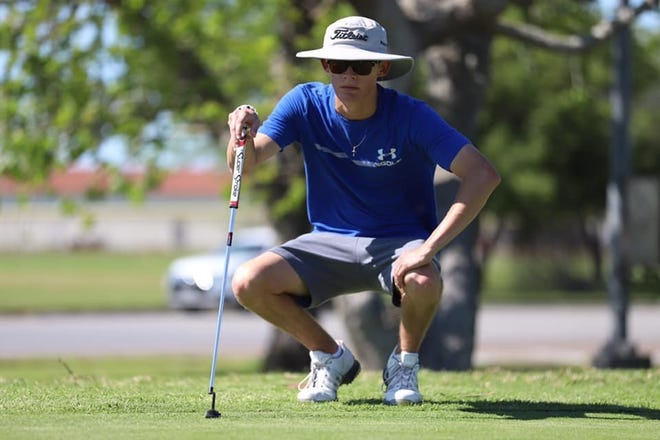 Senior Ethan Ming will make his first appearance at the UIL Class 5A State Golf Tournament.
