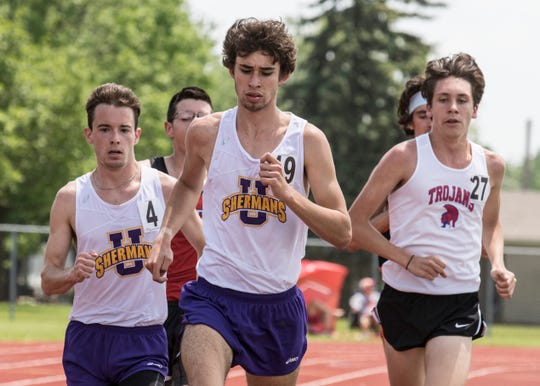 Unioto's Eric Hacker and Jaden Watkins qualified to compete in the 3,200-meter run as Watkins won the race with a time of 10:01.26 and Hacker finished third with a time of 10:05.38 at the Division II district tournament at Washington High School in Washington Courthouse, Ohio, on May 18, 219. Hacker and Watkins will go on to compete in the Division II region seven tournament at Muskingum College in New Concord, Ohio, on May 25, 2019.