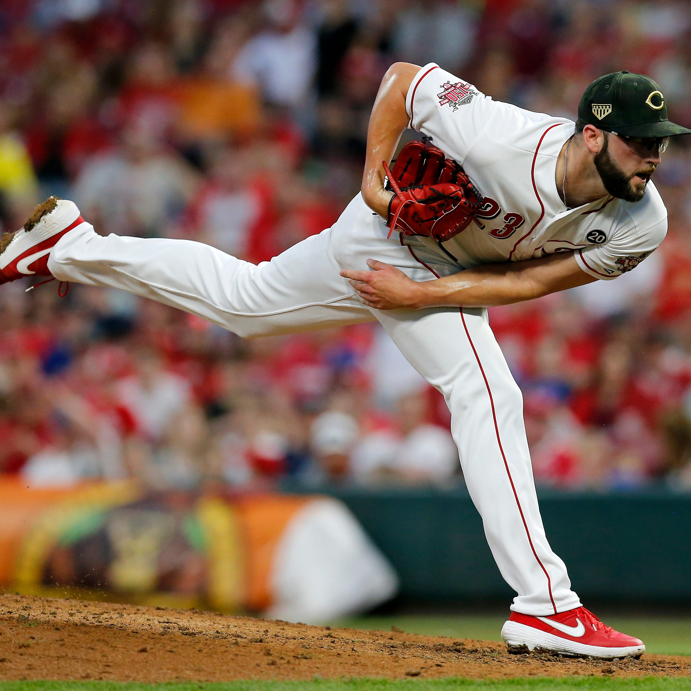 Cincinnati Reds lefty Cody Reed gets another ride on the I-71 shuttle to Louisville