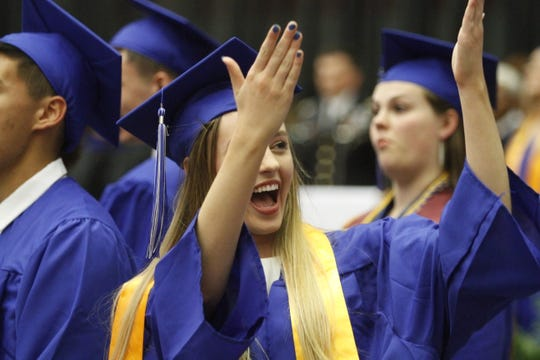 Fort Campbell High School graduation on Friday, May 17, 2019.