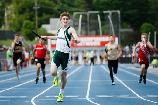 Iowa State Track: Bettendorf's Darien Porter Sets 400