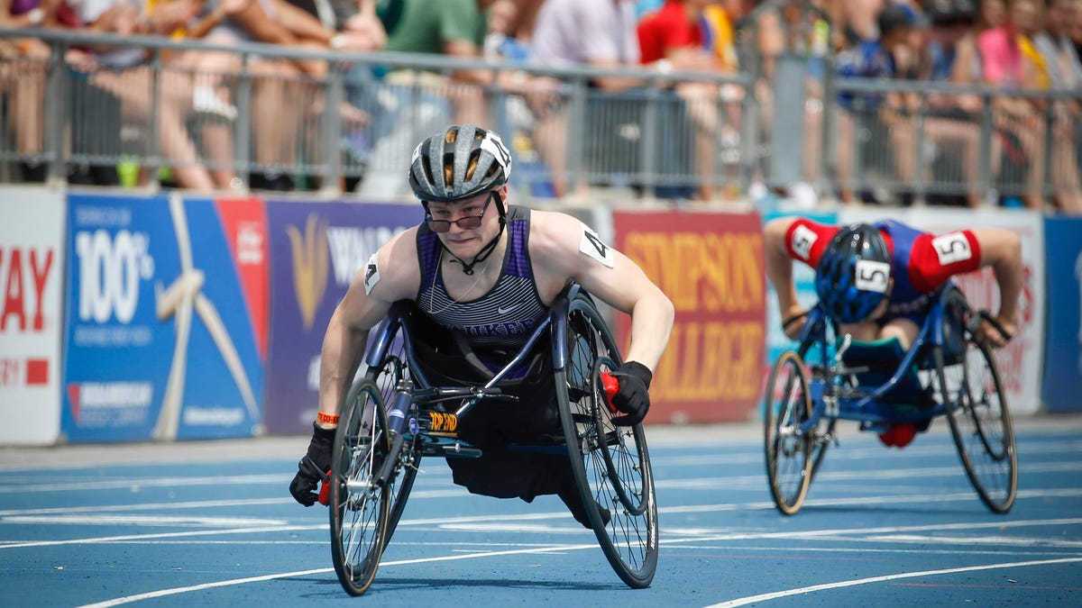 2021 Drake Relays: High school wheelchair athletes take sport to a new level