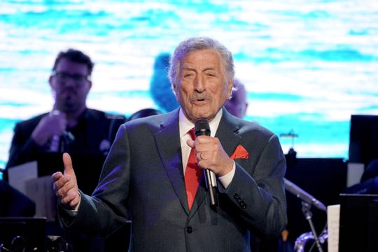 Tony Bennett performed last week at the opening of the Statue of Liberty Museum in New York.