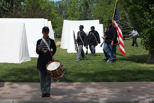 Re-enactors playing soldiers and civilians will be on hand this weekend for Greenfield Village's Civil War Remembrance.