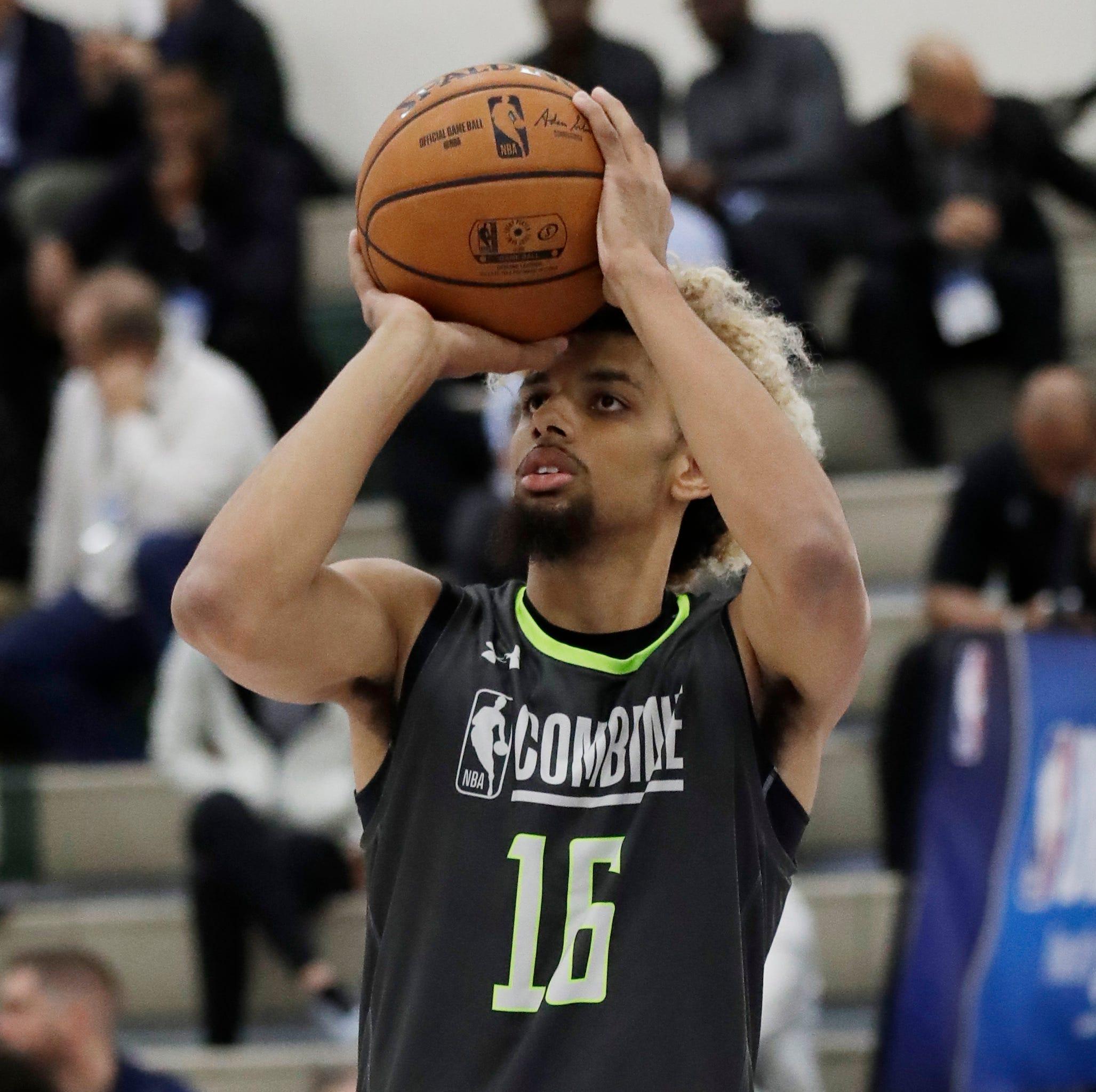 After detours, Saginaw's Brian Bowen hopes to realize NBA dreams