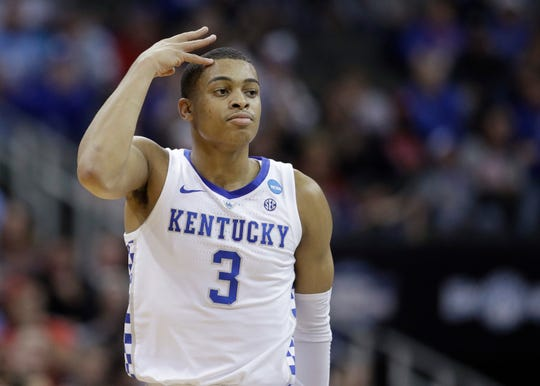 Kentucky's Keldon Johnson is a possible option for the Pistons at No. 15.