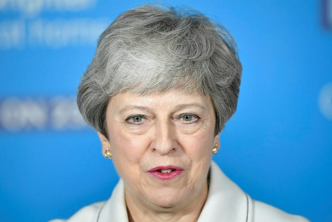 Britain's Prime Minster Theresa May.