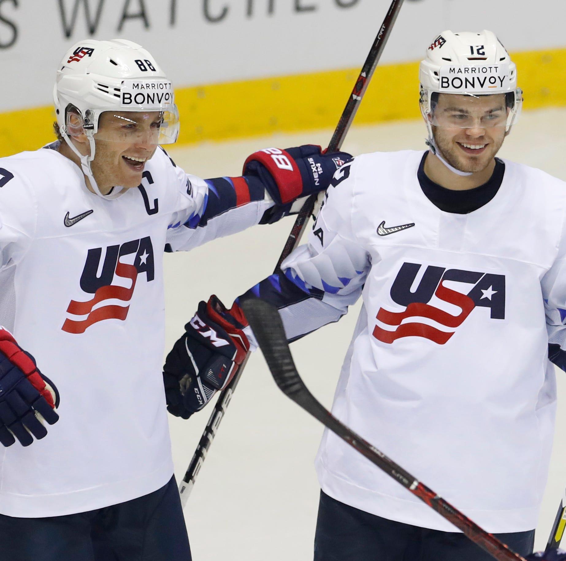 Saturday's world hockey: Blashill sets all-time win mark, U.S. routs Denmark