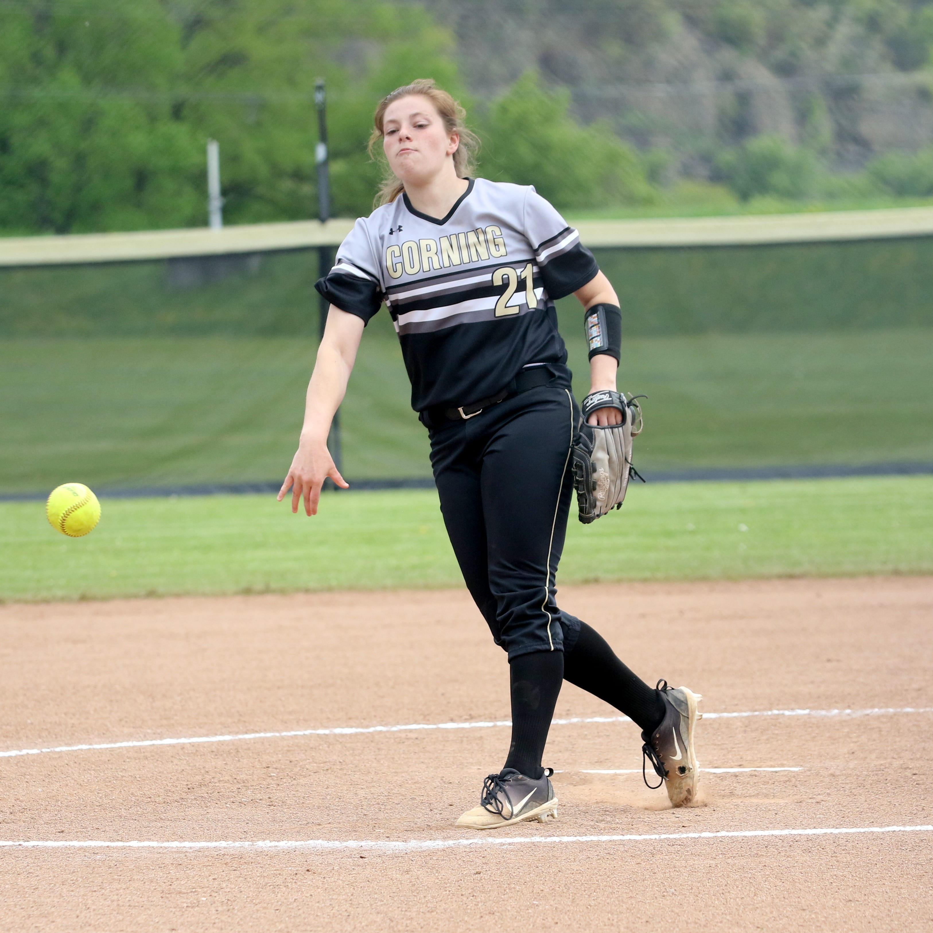Corning earns STAC West softball crown with two wins over Horseheads in two days