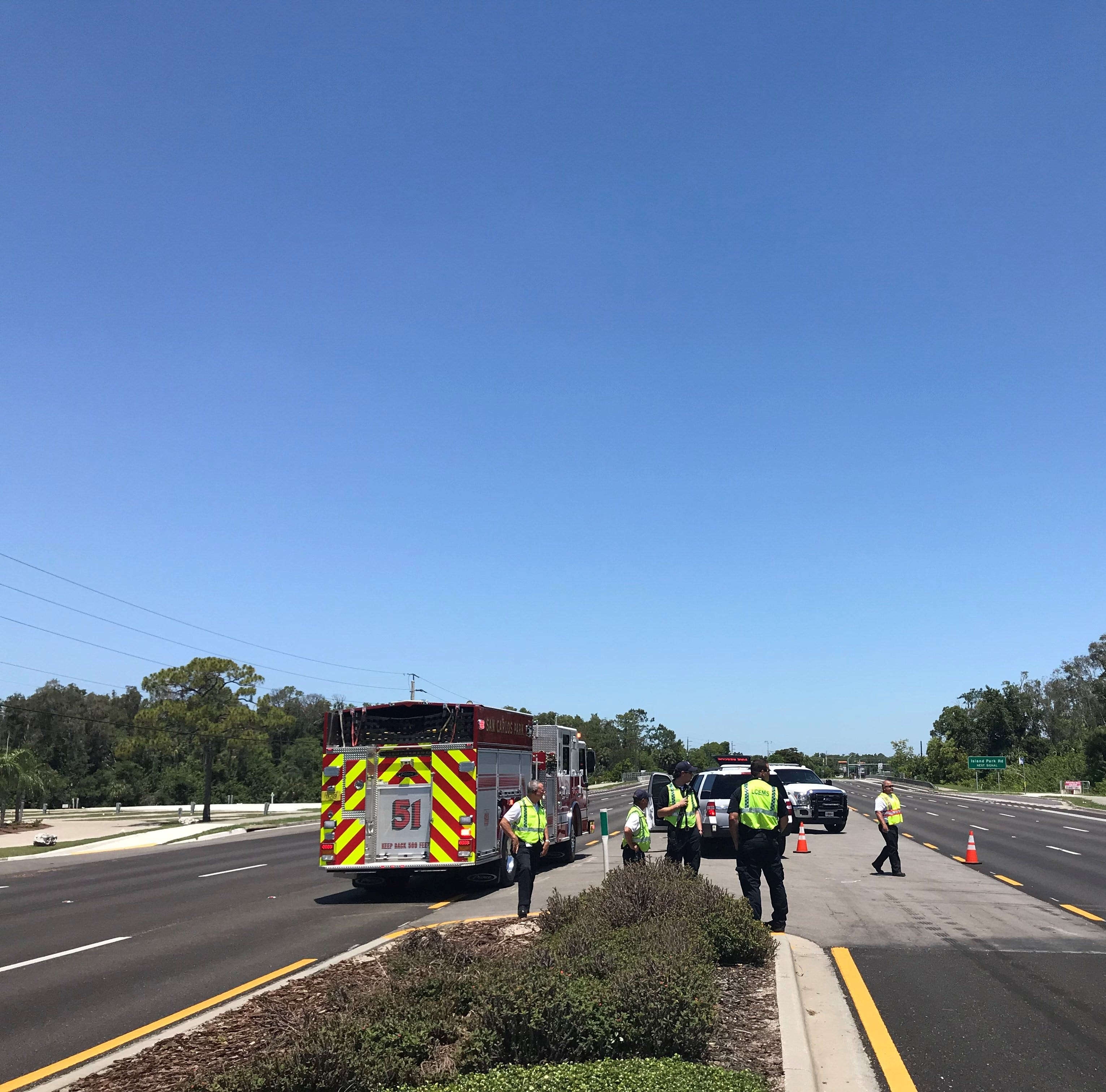 Gas leak causing road closures on U.S. 41 from Briarcliff Road to Alico Road in south Fort Myers