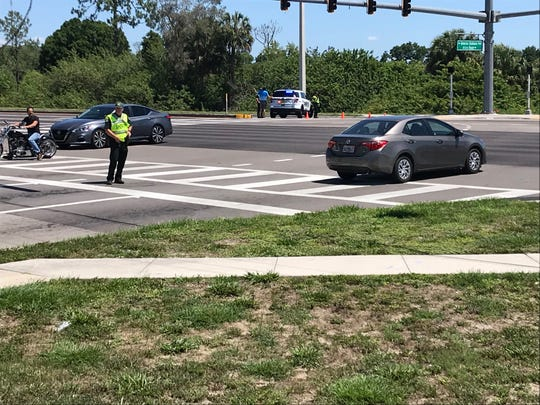 U.S. 41 at Alico Road was shut down Saturday due to a major natural gas line break.