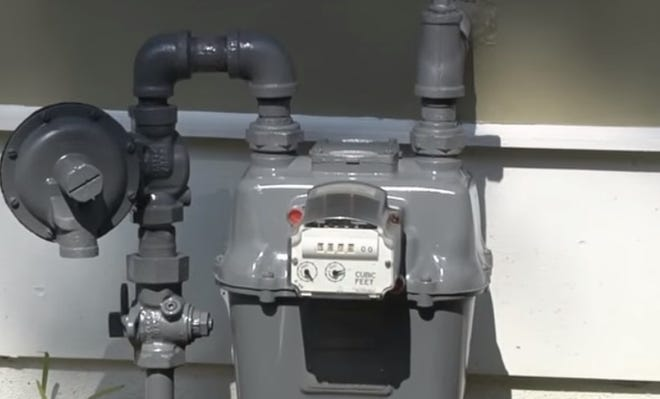 Columbia Gas said crews will go door-to-door to shut off the valve at every meter in the area. The meters should be outside, but if not, crews will need to go inside the homes to shut off the meters.
