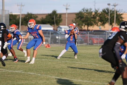 Cape Coral played a spring jamboree against Gulf Coast and Charlotte high schools.