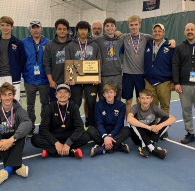 Mustang boys follow Scott, Walters to second straight tennis title