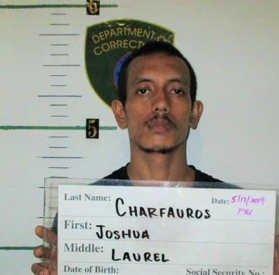 Man on pretrial release, Joshua Charfauros, charged with drug possession, terrorizing