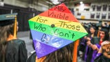 Some Taylor University students speak out on walkout and stickers protesting V.P. Mike Pence speaking at commencement on Saturday, May 18, 2019.