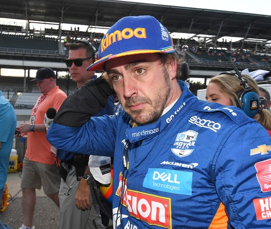 FILE -- Fernando Alonso has raced in one Indy 500 and attempted to qualify for another.