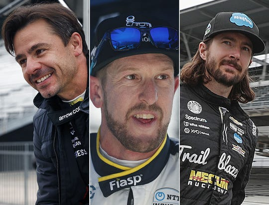 Oriol Servia, Charlie Kimball and JR Hildebrand are the seventh row for the 2019 Indianapolis 500