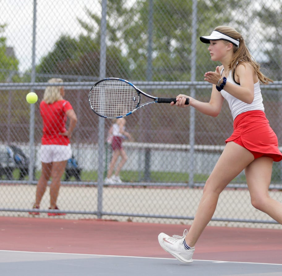Kaluta rebounds from midseason illness, helps West Lafayette girls tennis claim sectional