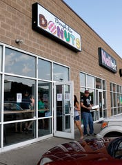 Dough-Hio Donuts opened its doors Saturday morning, May 18, 2019, on Memorial Drive in Lancaster.