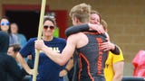 HIghlights and interviews from the Division 1 boys' track and field regional at Milford.
