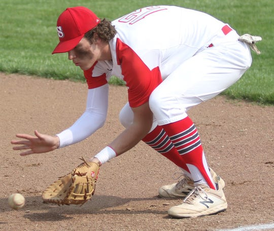 Shelby's McGwire Albert went 2-for-2 and drew two intentional walks to help the Whippets beat the Ontario Warriors for a sectional championship.