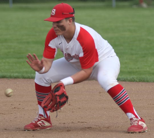 Shelby's Evan Bogner had the Whippets looking for an MOAC title in the spring of 2020.